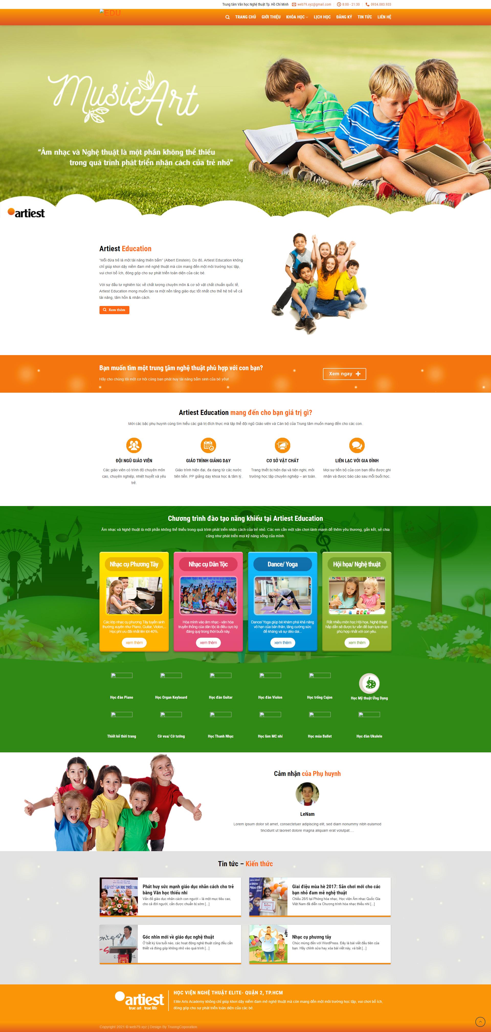 Web giáo dục 1
